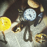 Ο χρόνος είναι ζωή Στοκ Φωτογραφία