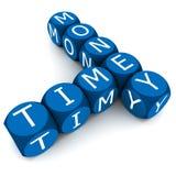 Ο χρόνος είναι χρήματα απεικόνιση αποθεμάτων