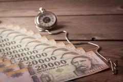 Ο χρόνος είναι χρήματα metaphore Στοκ Φωτογραφία