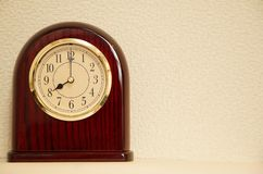 Ο χρόνος είναι 8:00 Στοκ φωτογραφία με δικαίωμα ελεύθερης χρήσης