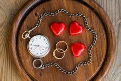 Ο χρόνος ενισχύει την αγάπη Στοκ φωτογραφία με δικαίωμα ελεύθερης χρήσης