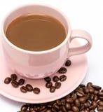 Ο χυμός καφέ σημαίνει το γαστρονομικό φασόλι και τη φρεσκάδα στοκ φωτογραφίες με δικαίωμα ελεύθερης χρήσης
