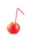 Ο χυμός των ώριμων μήλων Στοκ εικόνα με δικαίωμα ελεύθερης χρήσης