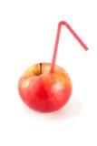 Ο χυμός των ώριμων μήλων Στοκ Φωτογραφίες