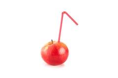 Ο χυμός των ώριμων μήλων Στοκ Εικόνες