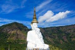 Ο χώρος λατρείας των Βουδιστών ο ναός είναι ένας βουδιστικός Στοκ Φωτογραφίες