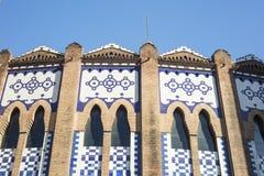 Ο χώρος δαχτυλιδιών ταυρομαχίας, γνωστός ως Λα μνημειακό, Barcelon στοκ φωτογραφία με δικαίωμα ελεύθερης χρήσης