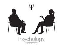 Ο ψυχολόγος και ο πελάτης Σύνοδος ψυχοθεραπείας Στοκ εικόνες με δικαίωμα ελεύθερης χρήσης