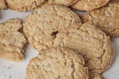 Ολόκληρα μπισκότα σίτου Στοκ εικόνα με δικαίωμα ελεύθερης χρήσης