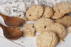 Ολόκληρα μπισκότα σίτου Στοκ Φωτογραφίες