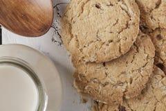 Ολόκληρα μπισκότα σίτου Στοκ φωτογραφία με δικαίωμα ελεύθερης χρήσης