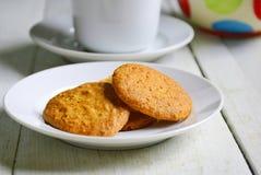 Ολόκληρα μπισκότα σίτου Στοκ Εικόνες
