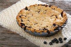 Ολόκληρη πίτα Blurberry Στοκ Εικόνες