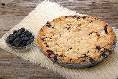 Ολόκληρη πίτα Blurberry Στοκ Εικόνα