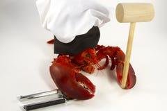 Αρχιμάγειρας αστακών Στοκ φωτογραφία με δικαίωμα ελεύθερης χρήσης