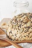 Ολόκληρο ένα ψωμί σίτου Στοκ Εικόνα