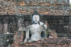 Ο όμορφος Βούδας στο Sukhothai, Ταϊλάνδη, παγκόσμια κληρονομιά στοκ εικόνα