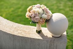 Ο όμορφος γάμος μας στοκ εικόνες