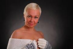 ο όμορφος μαύρος αθλητισμός ανασκόπησης γνωρίζει τη γυναίκα Στοκ εικόνες με δικαίωμα ελεύθερης χρήσης