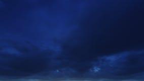 Ο όμορφος σαφής νυχτερινός ουρανός, τα σύννεφα είναι καλός Στοκ εικόνες με δικαίωμα ελεύθερης χρήσης