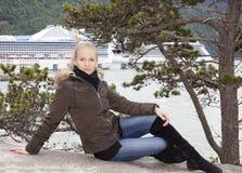 Ο όμορφος ταξιδιώτης Στοκ Φωτογραφία