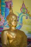 Ο όμορφος χρυσός Βούδας Στοκ Φωτογραφίες