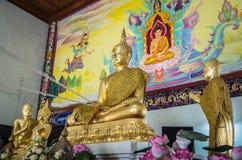 Ο όμορφος χρυσός Βούδας Στοκ φωτογραφίες με δικαίωμα ελεύθερης χρήσης