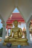 Ο όμορφος χρυσός Βούδας Στοκ φωτογραφία με δικαίωμα ελεύθερης χρήσης