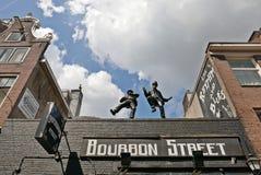 Οδός Άμστερνταμ μπέρμπον Στοκ εικόνες με δικαίωμα ελεύθερης χρήσης