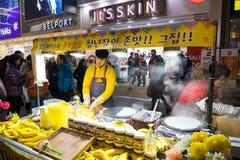 Οδός αγορών αγοράς Myeongdong Στοκ εικόνες με δικαίωμα ελεύθερης χρήσης