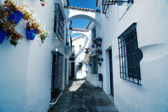 Οδός Ανδαλουσία σε Poble Espanyol Στοκ φωτογραφίες με δικαίωμα ελεύθερης χρήσης