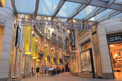 Οδός Αυστραλία αγορών του Σίδνεϊ arcade Στοκ Εικόνες