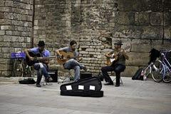 Οδός ζωνών στη Βαρκελώνη, Ισπανία στοκ φωτογραφίες