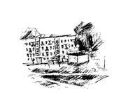 Οδός, διανυσματική απεικόνιση Στοκ Εικόνες