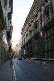 Οδός Ιστανμπούλ τραπεζών Στοκ Εικόνες