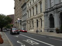 Οδός κάστανων, Φιλαδέλφεια, ΗΠΑ στοκ εικόνες