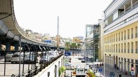 Οδός και εθνική οδός Στοκ εικόνες με δικαίωμα ελεύθερης χρήσης