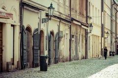Οδός και καθημερινή ζωή της πόλης Στοκ Εικόνες