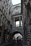 Οδός και κτήρια στο Λονδίνο στοκ φωτογραφίες