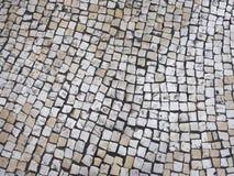 Οδός κεραμιδιών σύστασης στο πορτογαλικό ύφος Στοκ Εικόνα
