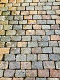 Οδός κυβόλινθων Στοκ φωτογραφίες με δικαίωμα ελεύθερης χρήσης