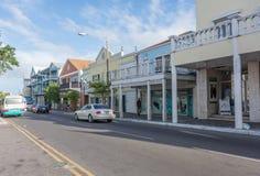 Οδός κόλπων Nassau, Μπαχάμες στοκ φωτογραφίες