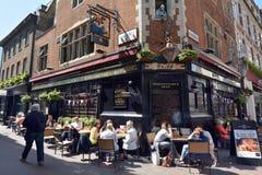 Οδός Λονδίνο UK Carnaby Στοκ φωτογραφία με δικαίωμα ελεύθερης χρήσης