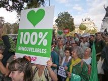 Οδός Μάρτιος στο Παρίσι Στοκ εικόνα με δικαίωμα ελεύθερης χρήσης