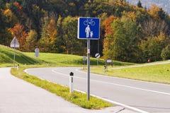 οδός μονοπατιών palanga ποδηλάτων basanaviciaus Στοκ Φωτογραφία