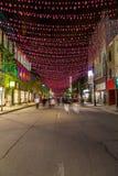 Οδός Μόντρεαλ Αγίου Catherine Στοκ Φωτογραφία