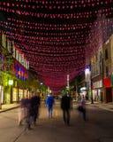 Οδός Μόντρεαλ Αγίου Catherine Στοκ φωτογραφία με δικαίωμα ελεύθερης χρήσης