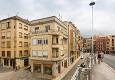 Οδός παλαιό Tortosa, Ισπανία στοκ εικόνες με δικαίωμα ελεύθερης χρήσης