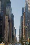 Οδός πόλεων της Νέας Υόρκης στοκ εικόνες