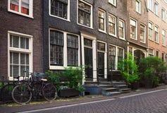 Οδός πόλεων του Άμστερνταμ Στοκ φωτογραφία με δικαίωμα ελεύθερης χρήσης